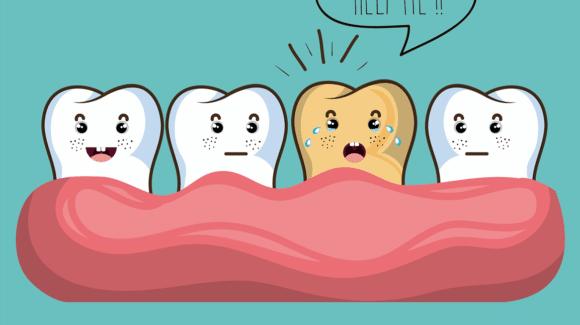 Потемнів зуб 😭