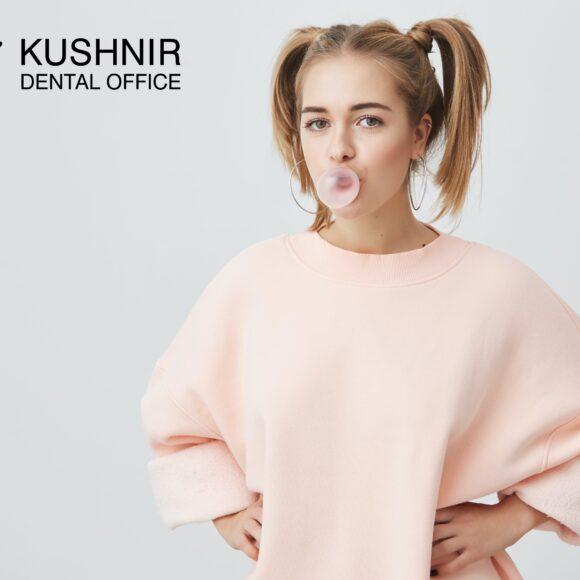 Про користь жувальної гумки для зубів